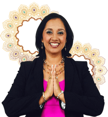 Gagan with 2 mandala crowns
