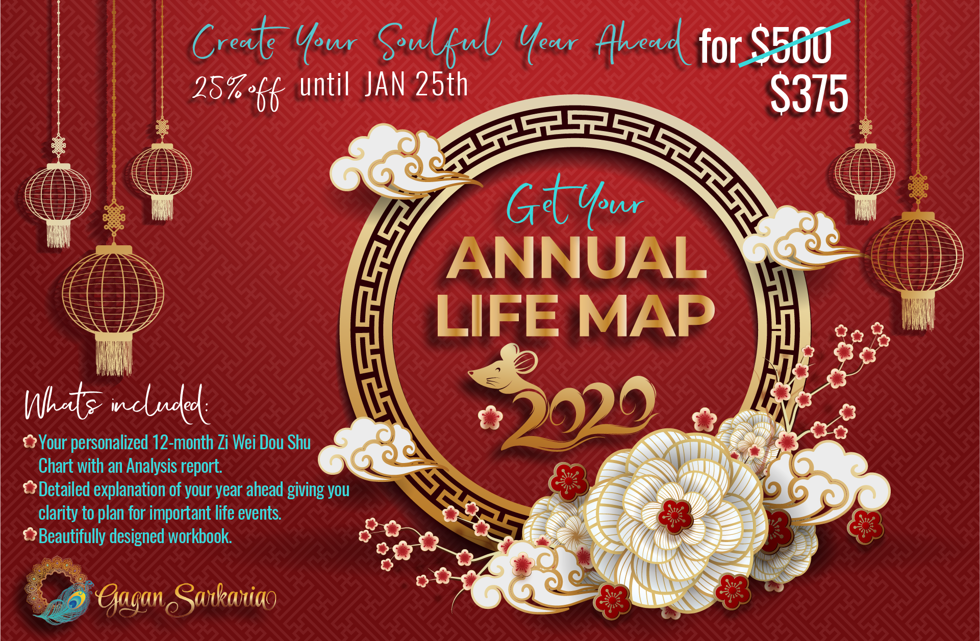Gagan Sarkaria Annual Life Map Reading 2020 Sale 1